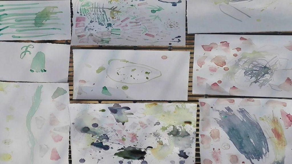 Dagli scarti vegetali un arcobaleno di acquerelli - Riciblog