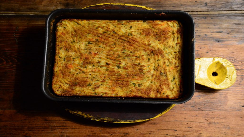 Ricetta Sformato di verdure e foglie di cavolo - Riciblog