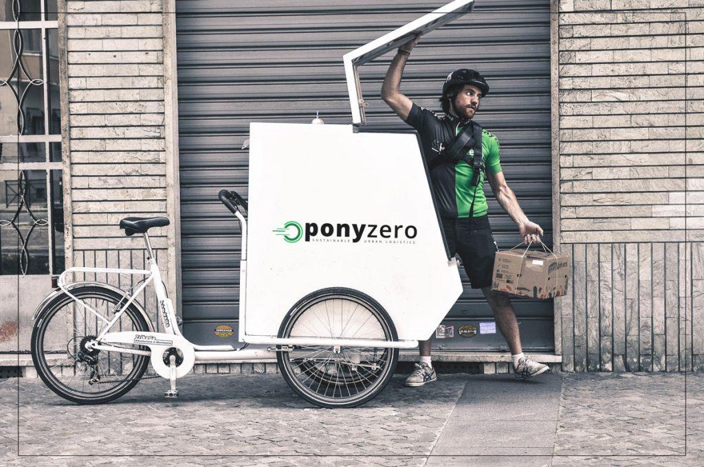 Un rider di PonyZero