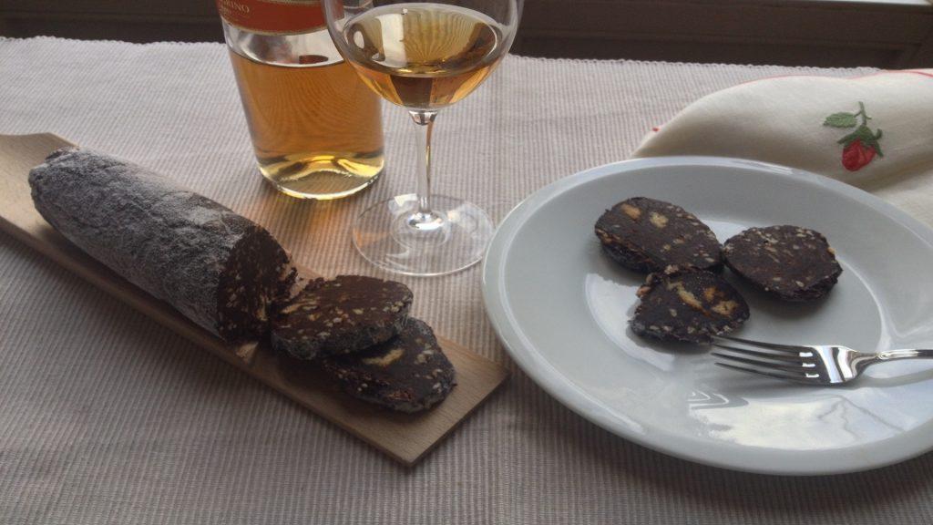 Ricetta salame al cioccolato con avanzi di pandoro - Riciblog