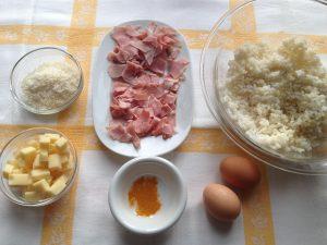 Torta salata con risotto avanzato: ingredienti - Riciblog