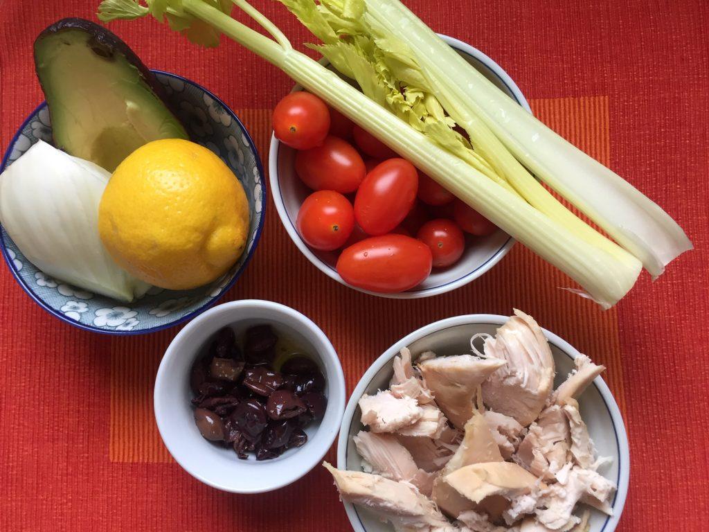 Pollo arrosto avanzato: utilizziamolo nell'insalata - Riciblog