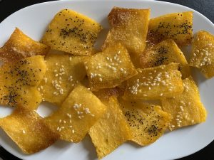 chips di polenta - ingredienti e preparazione