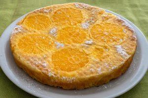 Torta di polenta all'arancia e mandorle – ingredienti e preparazione