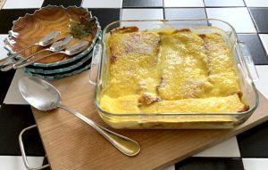 Torta di panettone e crema – ingredienti e preparazione