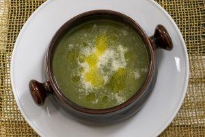 minestra di foglie di sedano - ingredienti e preparazione