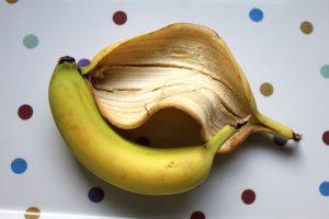 La buccia di banana per la pelle