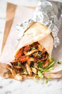 come preparare un kebab di pollo avanzato