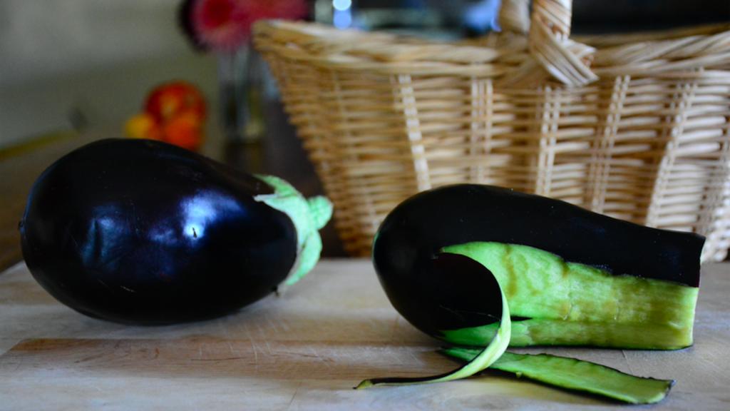 Tre ricette per riciclare bucce melanzana