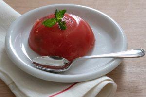 Gelo di anguria con sciroppo di buccia – ingredienti e preparazione