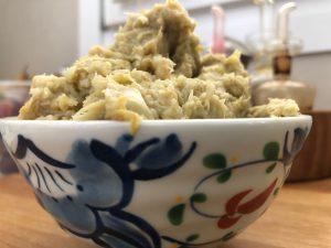 Crema con foglie di carciofo - ingredienti e preparazione