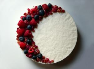 Torta con biscotti avanzati e yogurt