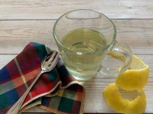 infuso di bucce di limone - ingrdienti e preparazione