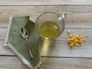 scorze di arancia in tisana - ingredienti e preparazione