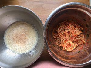 frittata di spaghetti al sugo come la fanno a Napoli - ingredienti e preparazione
