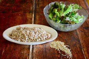 grano saraceno in insalata