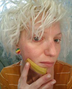 buccia di banana sul viso - ingredienti e utilizzo