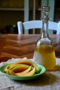 Ricetta del liquore con le bucce di melone